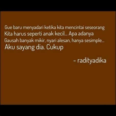 raditya dika  lucu lucuan bahasa indonesia sajak