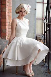 vintage short a line wedding dress sang maestro With vintage a line wedding dresses