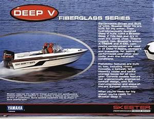 1999 Skeeter Fishing Boats Brochure