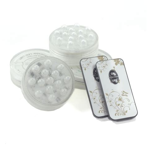 battery operated led lights with remote 4 pack small led puck light battery operated w remote