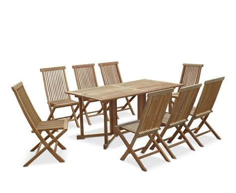 shelley rectangular folding garden table and chairs set 2