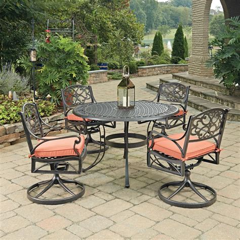 home styles biscayne rust bronze 5 cast aluminum