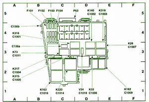 2000 Lincoln Ls Auxiliary Junction Fuse Box Diagram  U2013 Auto
