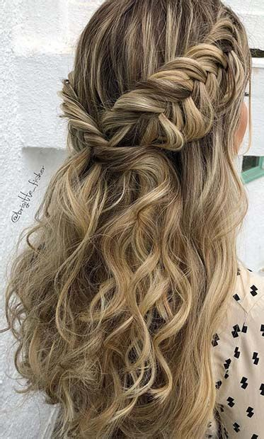popular homecoming hairstyles thatll steal  night