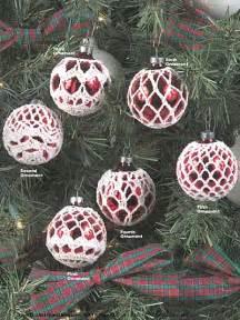 winter crochet patterns elegant ornaments