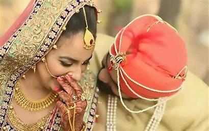 Punjabi Couple Marriage Wallpapers India Baltana Couples