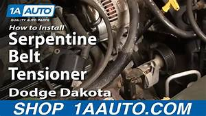 How To Replace Serpentine Belt Tensioner 98