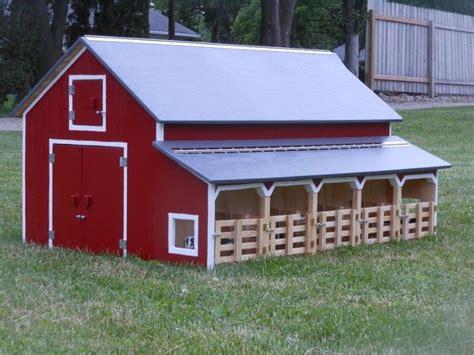 Homemade Breyer Horse Barns