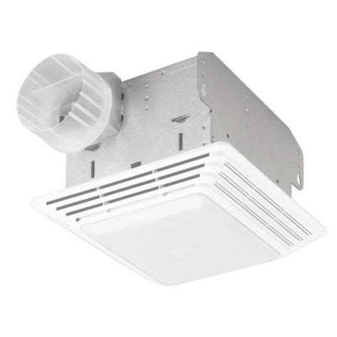 bathroom exhaust fan with light home depot null 50 cfm ceiling exhaust bath fan with light