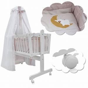 Baby Wiege Bett : baby wiege kinder himmel bett stubenwagen real ~ Michelbontemps.com Haus und Dekorationen