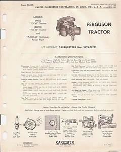 Ferguson Tractor To
