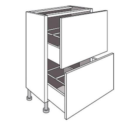 meuble de cuisine profondeur 40 cm meuble de cuisine bas faible profondeur 2 tiroirs lumio