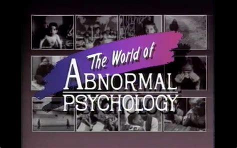 world  abnormal psychology annenberg learner