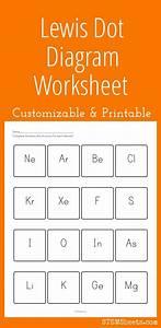 Customizable And Printable Lewis Dot Diagram Worksheet