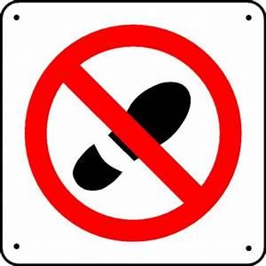 Panneau Interdiction de marcher Picto Stocksignes