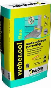 Colle Carrelage Exterieur Flex : weber mortier colle d formable double consistance pour carrelage c2s1 et eg flex ~ Nature-et-papiers.com Idées de Décoration