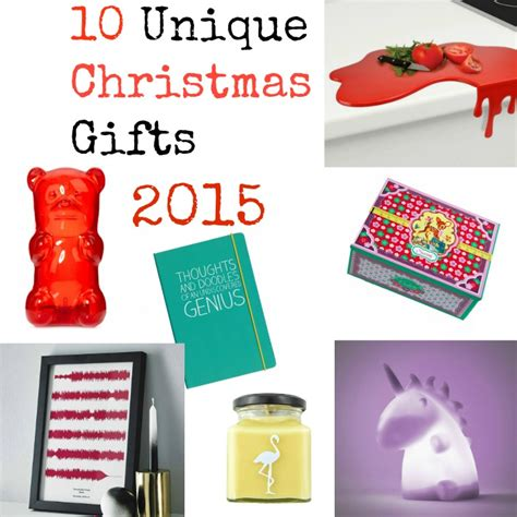 10 super unique christmas gifts for 2015