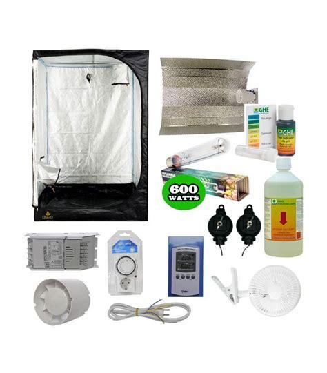 kit chambre de culture complet pack basic tente eclairage pack complet chambre de