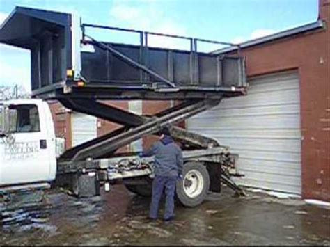 innovative roofing series part  scissor lift truck youtube