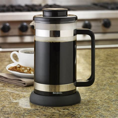This straightforward question has an answer that might be longer than you think, so read our article to get the skinny on this. BonJour Riviera 8-Cup French Press with Coaster and Coffee Scoop   MrOrganic Store