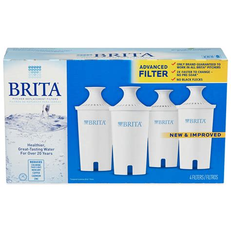 Brita Faucet Filter Replacement Target by Target Brita 4 Pack Water Pitcher Replacement Filters