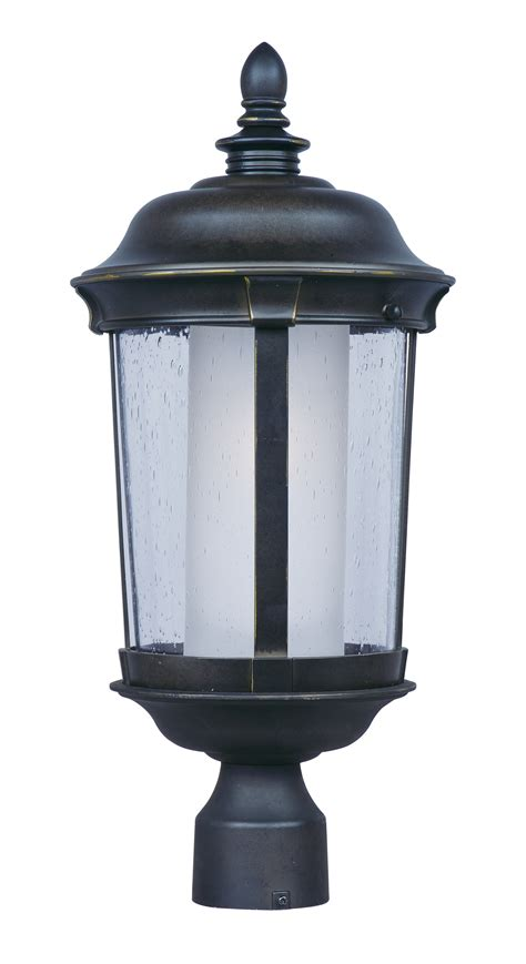 led outdoor area flood light wall pack fixtures dover ee 1 light medium outdoor pole post lantern