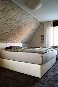 Bett Für Dachschräge : tapeten schlafzimmer dachschr ge ~ Michelbontemps.com Haus und Dekorationen