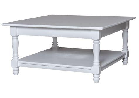 meuble cuisine en pin acheter votre table basse carrée en pin massif blanche