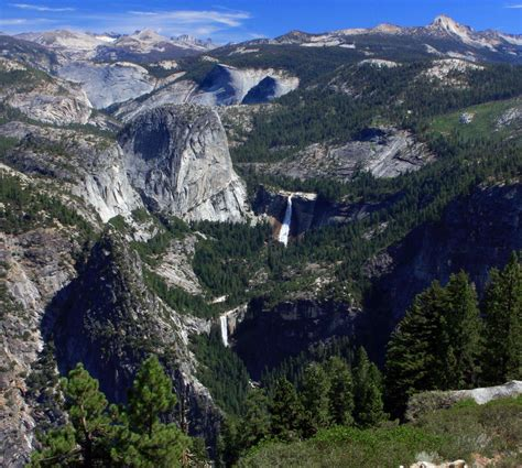 Nevada Falls Vernal Yosemite Valley