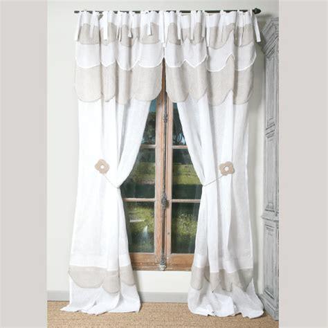 hauteur standard table de cuisine rideaux et voilages rideau pâquerette blanc
