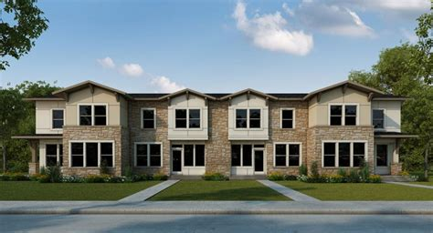 mueller affordable 55 row homes tx home builder