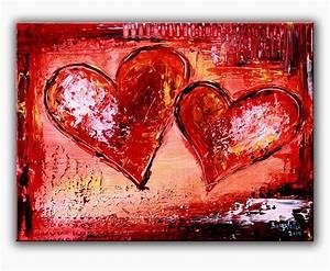 Erotische Kunst Bilder : burgstaller herzbilder acrylbild abstrakt liebe partner mutter geschenk herz 134 ebay ~ Sanjose-hotels-ca.com Haus und Dekorationen