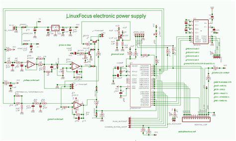 lf hardware ein mikrocontroller gesteuertes labornetzteil
