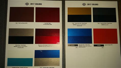 2017 harley paint colors 2017 colors page 3 harley davidson forums