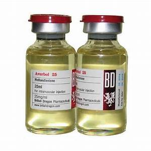 Averbol 25 British Dragon   Methandienone  Dianabol Injection   20ml Vial