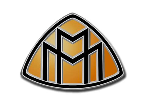 Large Maybach Car Logo
