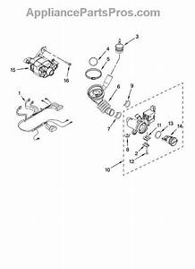 Parts For Whirlpool Wfw8300sw00  Pump And Motor Parts