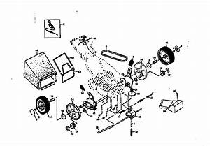 Rotary Lawn Mower 917 377541 Diagram  U0026 Parts List For