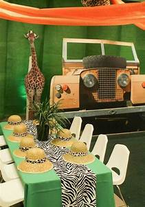 Jungle party decoration ideas wall decal
