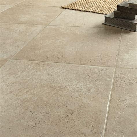 cuisine domotique carrelage sol et mur beige effet tesalia l 60 x l