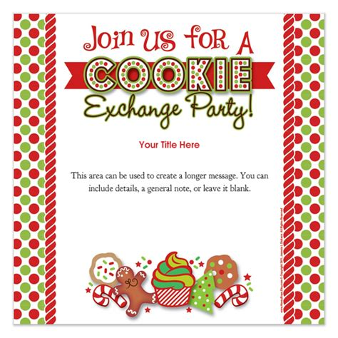 Cookie Invitation Template by Cookie Invitations Cards On Pingg