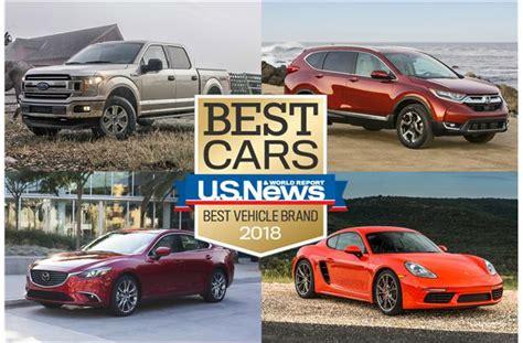 vehicle brand awards  news world report