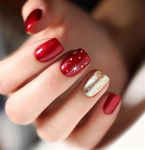 Christmas gel nail art designs. 60 Awesome Christmas Nail Ideas in 2020