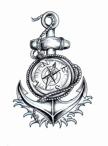 Clipart Compass Nautical Anchor Transparent Webstockreview