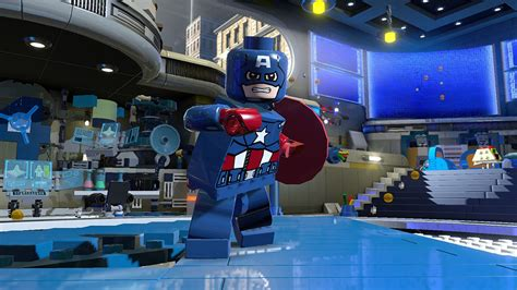 lego marvel super heroes character characters superheroes game games four fantastic polygon familiarity avengers adventure many trailer cap vehicle xbox