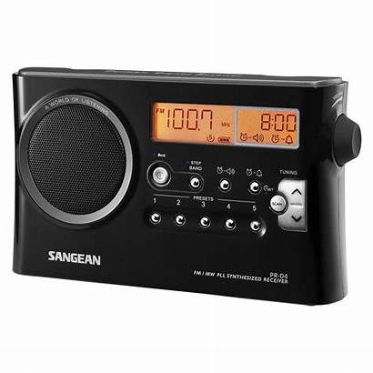 Radio Sangean Fm Med Tuner Pr D4