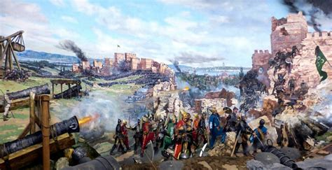 Ottomans Capture Constantinople by Siege Of Constantinople Historical Pictures Siege Of