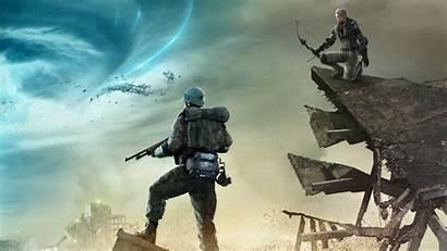 4k Gear Metal Survive Tornado Wallpapers Games