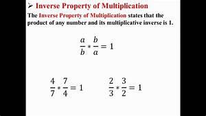 Multiplikative Inverse Berechnen : inverse property of multiplication youtube ~ Themetempest.com Abrechnung