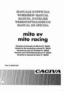 Cagiva Mito Ev Racing 1995 Repair Manual Pdf Download